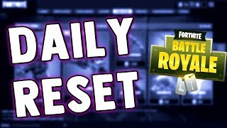 FORTNITE BATTLE ROYALE DAILY SKIN RESET & FEATURED ITEMS!!