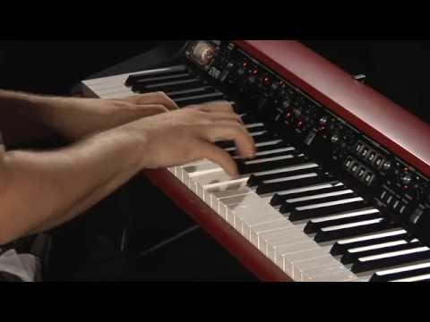 SV-1 73-Key Stage Vintage Piano Black