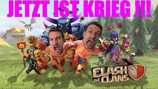 JETZT IST KRIEG !!! | Clash of Clans #2 | DEUTSCH | FaceCam | 60FPS