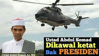 Layaknya Presiden,  Ustad Abdul Somad UAS dikawal ketat setiap ceramah