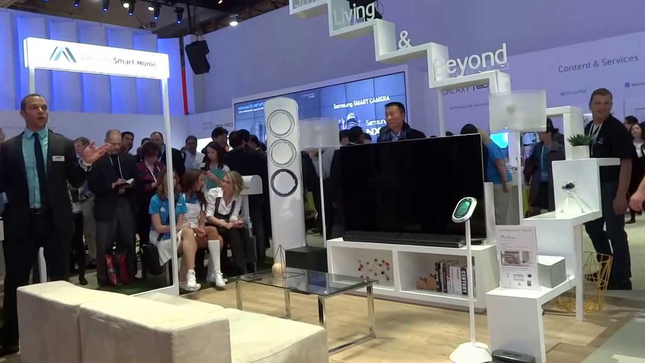 Samsung smart home demo ces 2014 youtube for Smart home technology 2014