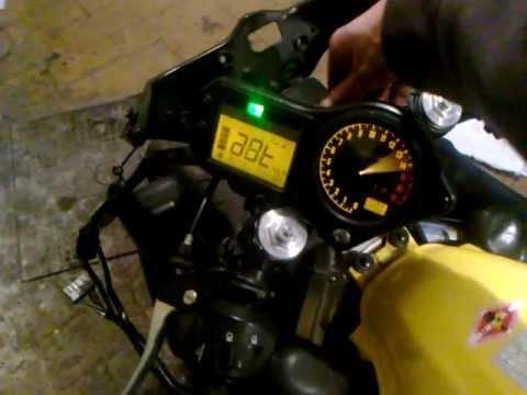 Oil In Coolant >> CBR 600 f4i gauges problem HELP PLS - YouTube