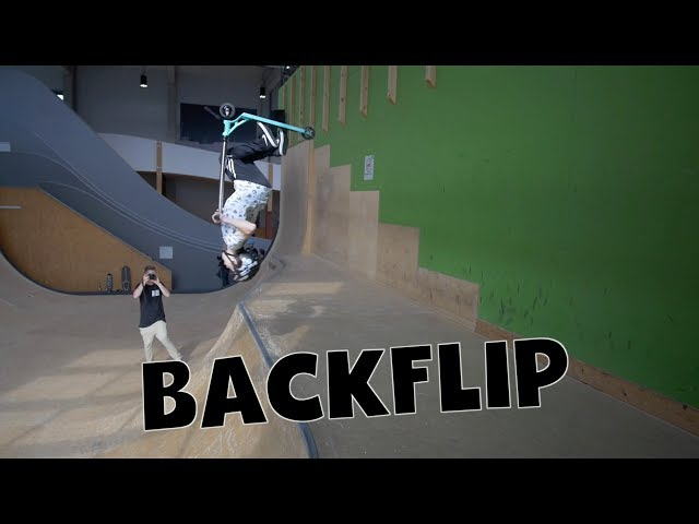 Scooter Tutorial - BACKFLIP // Freestyle Academy Stuttgart