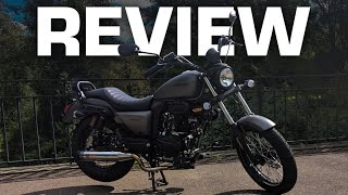 Sinnis Hoodlum Road Test and Review! 125cc CRUISER!