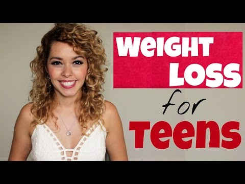 Weight loss tips for teenagers