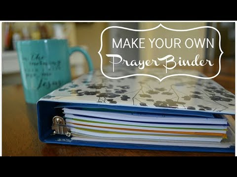 Bible Study/Journal Binder