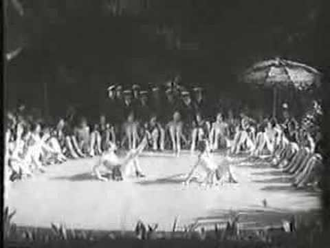 Energetic beachside production number from 1929