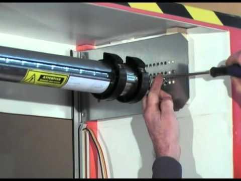 Super Installatie MCD ALU30 Roldeur vanuit binnenzijde [Franstalig QA-02