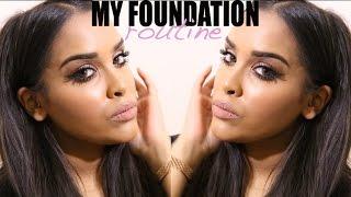 My Foundation Routine|        N1kk1ssecr3t