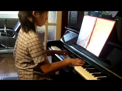 ABRSM Piano 2011-2012 Grade 2 C:3 C3 American Folk Down by the Riverside Original by JY