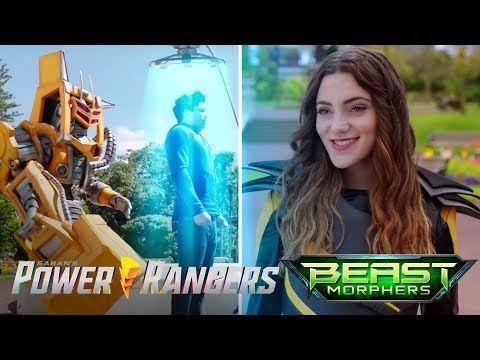 "Power Rangers Beast Morphers - Roxy's Plan | Episode 4 ""Digital Deception"""
