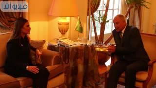 بالفيديو : الامين العام لجامعة الدول العربية يلتقى  بوزيرة التعاون الدولى