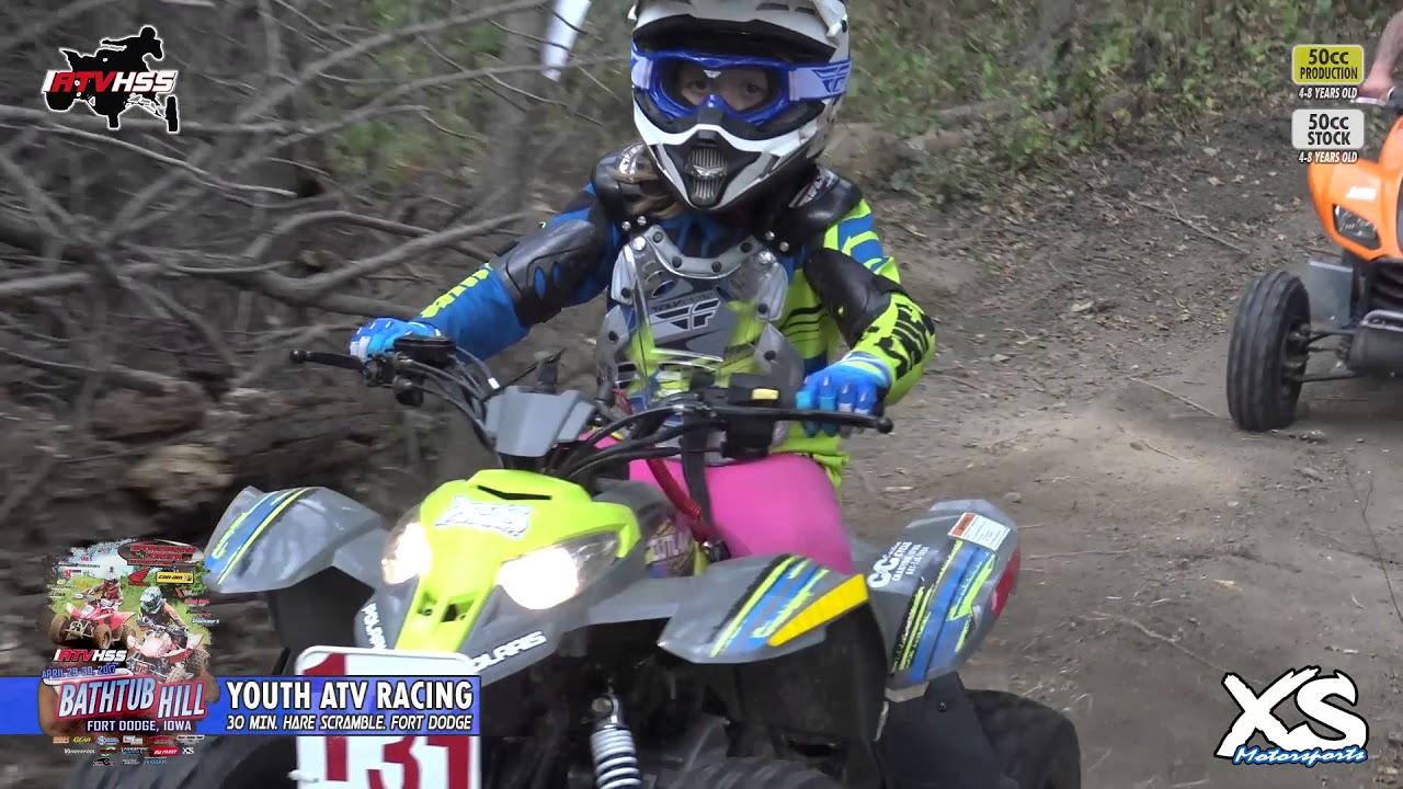 50cc ATV Racing - Fort Dodge IATVHSS 2017