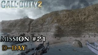 Call of Duty 2 - Mission #21 - D-Day (American Campaign) (Veteran)