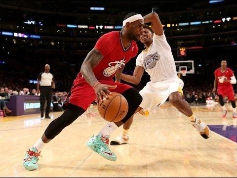 Heat vs Lakers Christmas Day - NBA Live 14 - YouTube