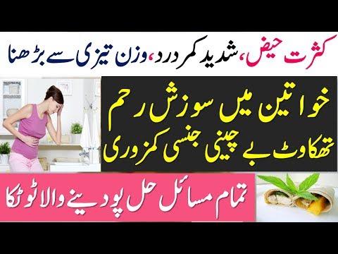 Infertility Treatment || Weight Loss | Back Pain | Uterus Lining | Period | Health Tips Urdu  Hindi