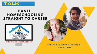 HSC 2020 Virtual Conference Panel: Homeschooling Straight to Career