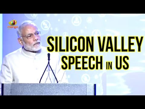 PM Modi Silicon Valley Speech In US | Pitches Digital India Dream | Modi US Tour | Full Speech