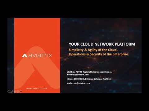 TechTalk: Comment bâtir un réseau multi cloud sur AWS, Azure et GCP