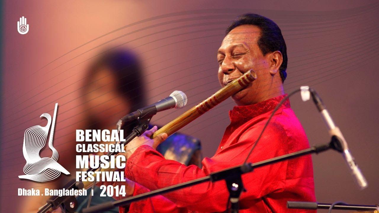 Md Moniruzzaman at Bengal Classical Music Festival 2014, Dhaka , Bangladesh