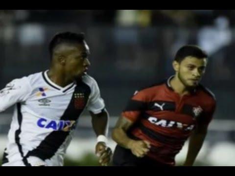 Gols, Vasco 1 x 1 Vitória - Copa do Brasil 09/03/2017