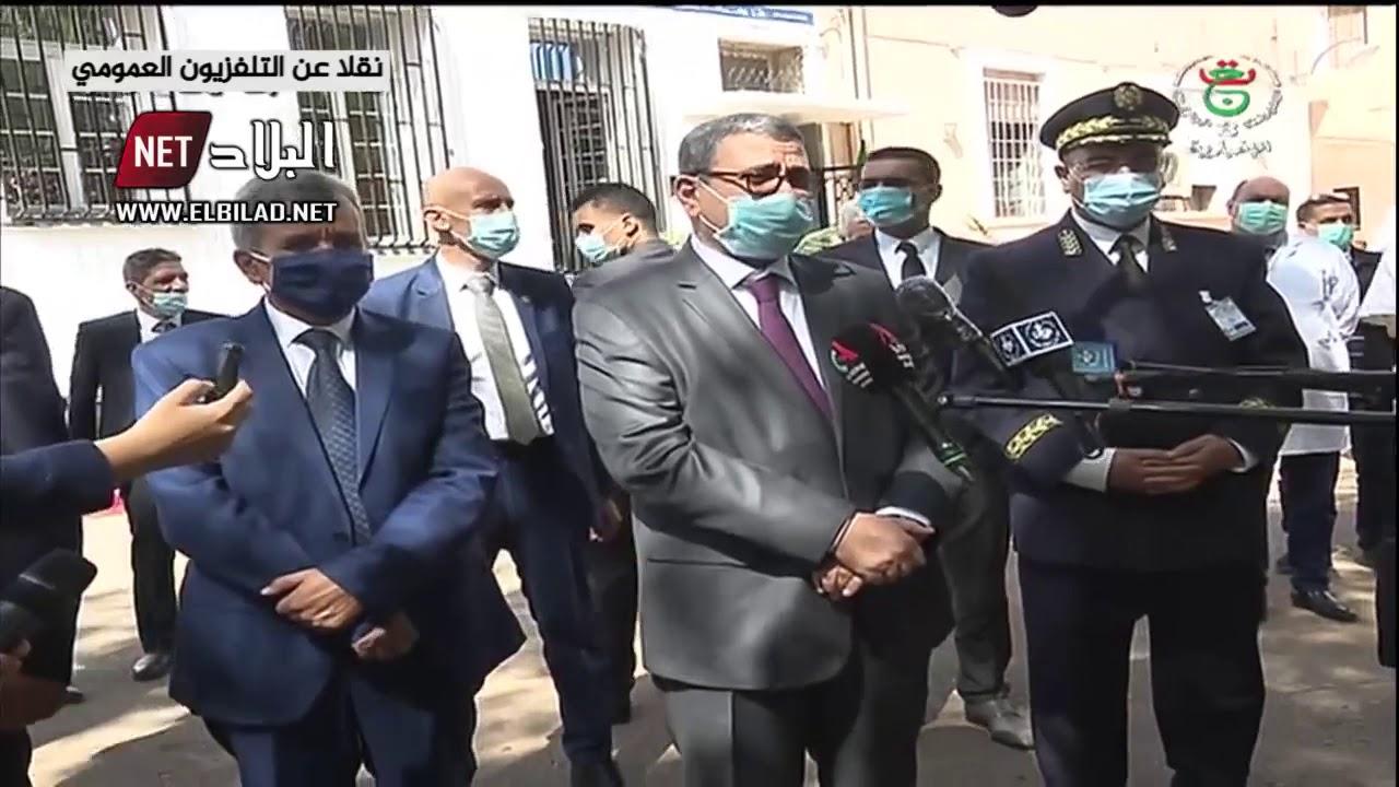 جراد يوجه نداء للجزائريين .. القضية ليست سهلة ويجب على الجميع ارتداء كمامات