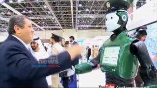 Robot police officer goes on duty in Dubai | Gulf Round UP 26 May 2017