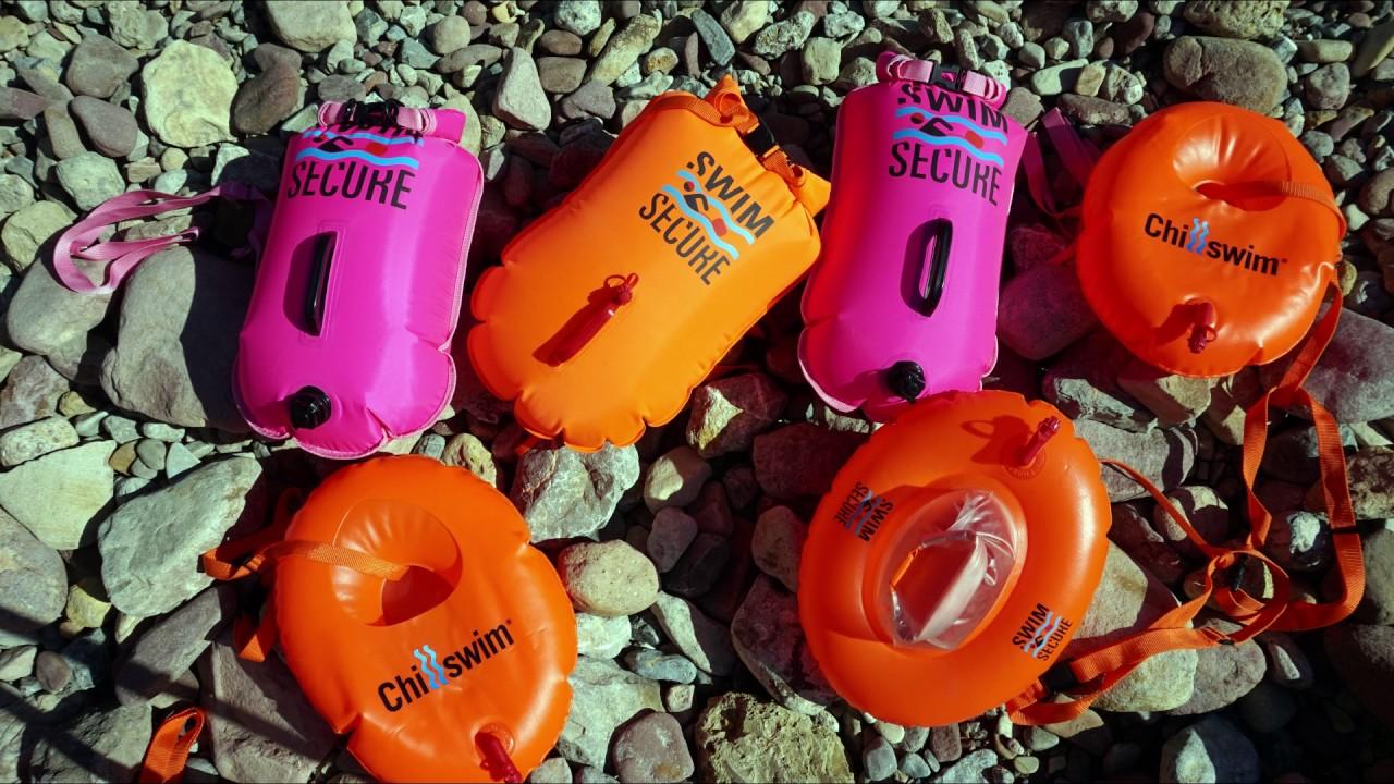 57992eafeede Swim Secure   Boyas para natación en aguas abiertas multicolor