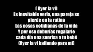 Juan Magan - Ayer La Vi (Bailando Por Ahi) (Con Letra)