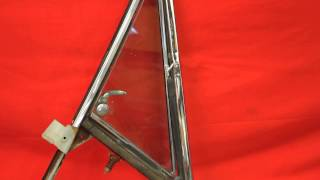1966 1967 GTO 442 Vent Window Frame