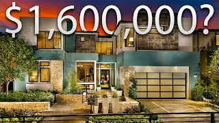 TOURING AN INCREDIBLE $1,600,000 MODERN MANSION In Los Angeles | California Luxury Mansion Tour