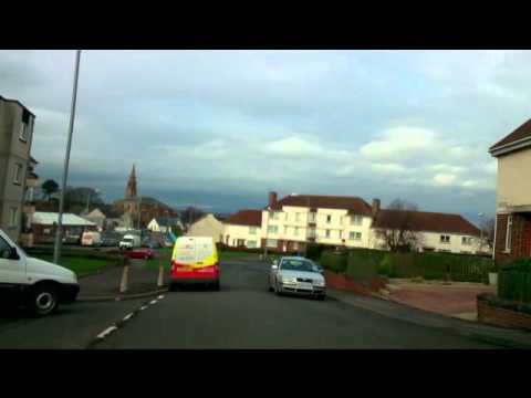 Treeswoodhead-Ayr Rd Kilmarnock Real Street View Driving Vid