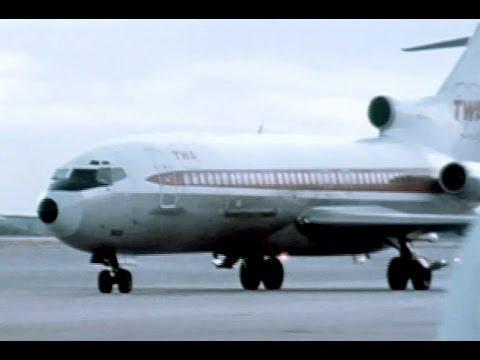 TWA Boeing Jetliners & Employee Interviews - 1972