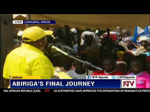 Lumumba calls for freedom of expression censoring at Abirga's final send off