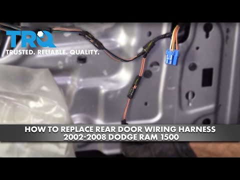 How to Replace Rear Door Wiring Harness 2002-08 Dodge RAM 1500