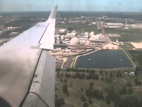 Landing in Decatur, Illinois (First Time) July 2007