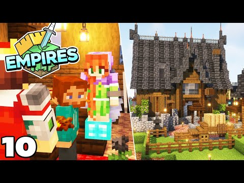 Empires SMP : Alliance Base and Death Roses! Minecraft 1.17 Survival