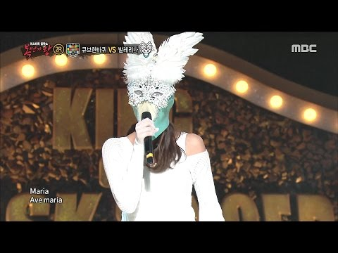 King of masked singer 복면가왕 - &39;Ballerina created by ballet&39; 2round - Maria 0312