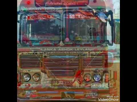 Sri Lanka bus vodeo