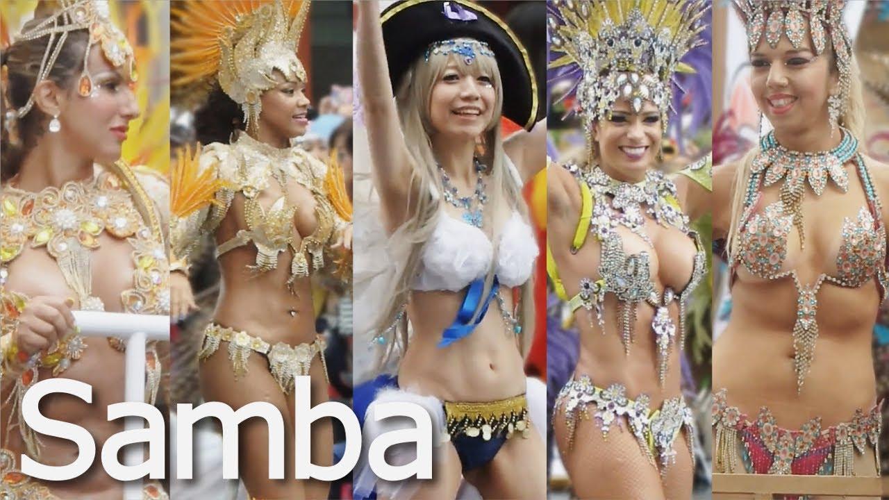 【サンバ4Kガンホーアミーゴス】浅草サンバカーニバル2015【Japanese Samba Dancers】