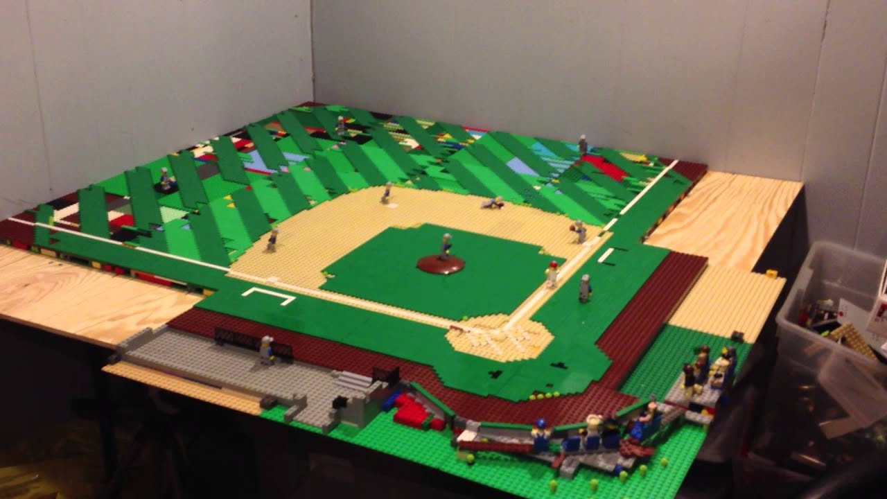 LEGO BASEBALL STADIUM MOC UPDATE 6 YouTube