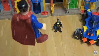 Imaginext Batman Vs. Superman Fight