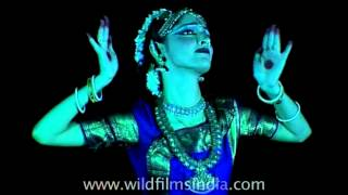 Bharatnatyam to the tunes of Hollywood