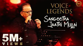 Gambar cover Sangeetha Jaathi Mullai | S.P. Balasubrahmanyam | Kadhal Oviyam | Voice of Legends Singapore