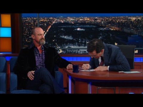 Christopher Meloni Won't Let Stephen In The Club