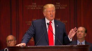 Donald Trump's full economic speech