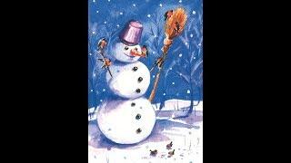 """Песня""""Снеговика""""Песня из фильма «Тайна Снежной королевы»)-исполняет Мезенкова Надя( 2017)"""
