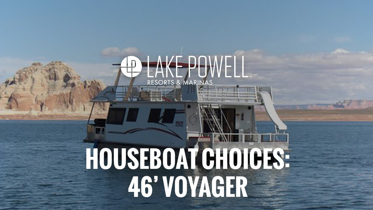 Economy Class 46' Voyager Lake Powell Houseboat