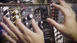 Make Noise QPAS Stereo Modular Synth Wonderpanel Demo