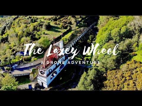 The Laxey Wheel Drone Tour
